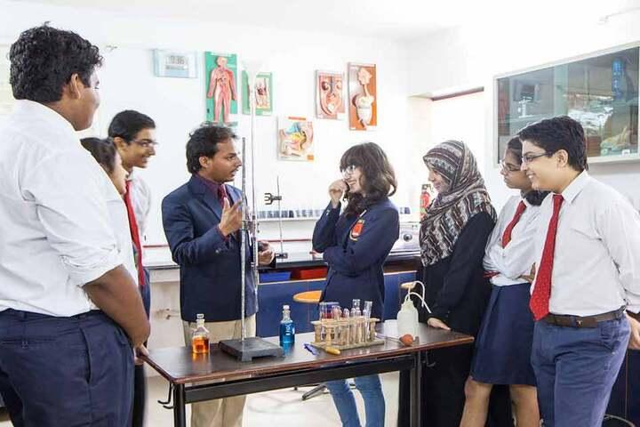 RIMS International School and Junior College-Biology Lab