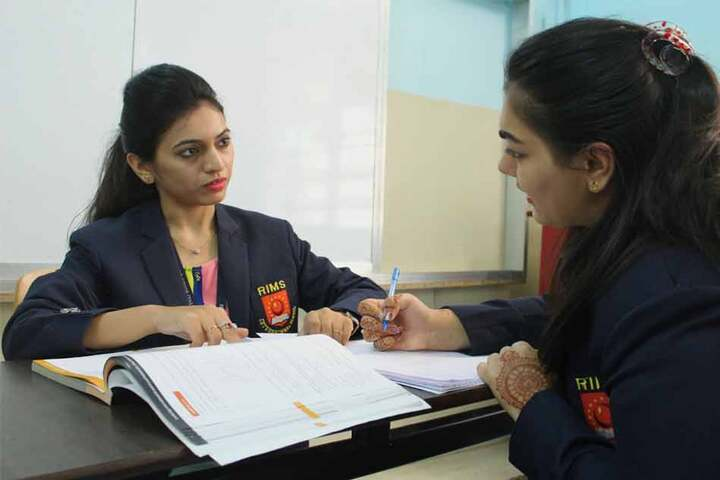 RIMS International School and Junior College-Explanation