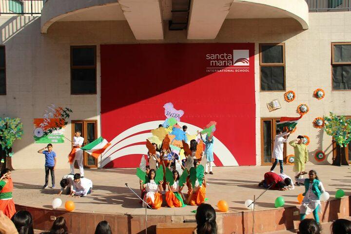 Sancta Maria International School-Independence Day