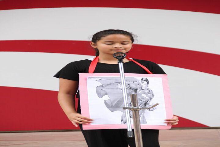 Sancta Maria International School-Student Speech