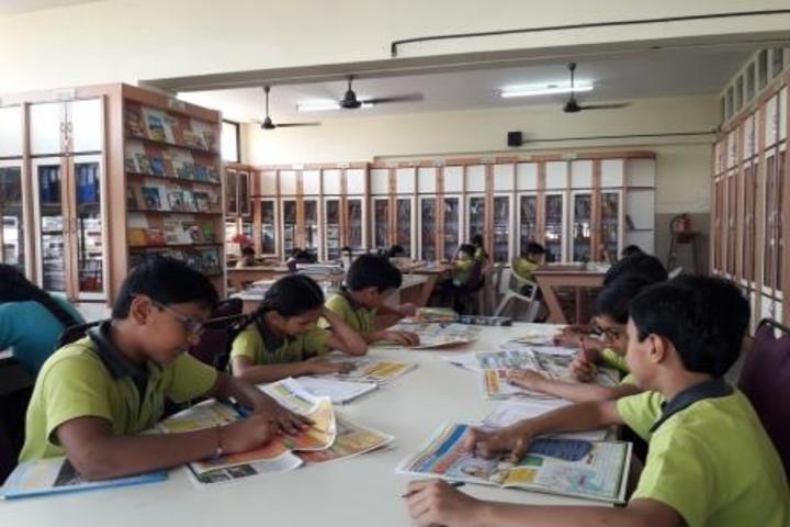 Savitridevi Hariram Agarwal International School-Library