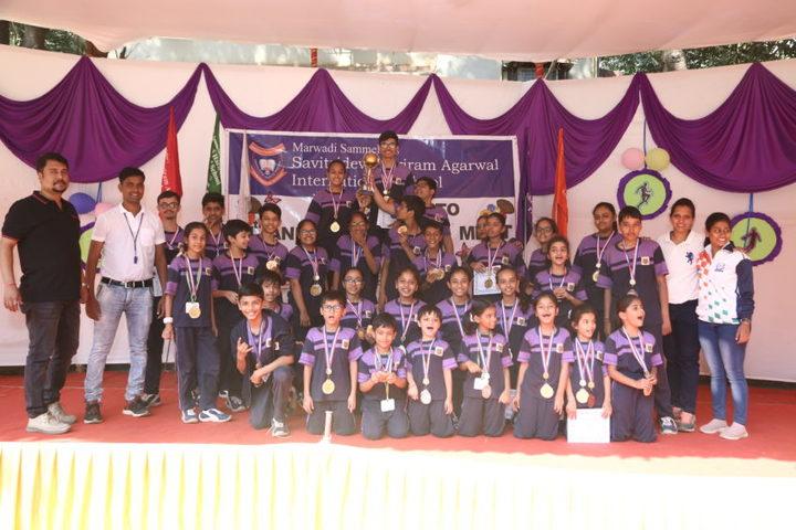 Savitridevi Hariram Agarwal International School-Winners