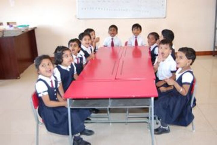 Sri Chandra Gupta Maurya International School-Classroom