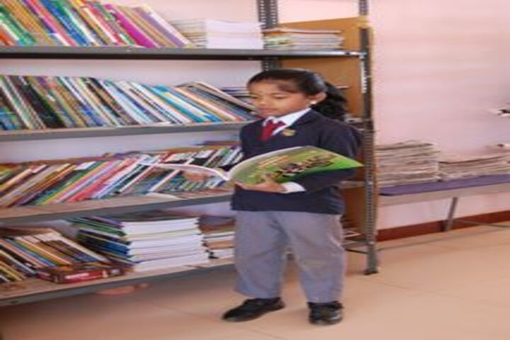 Sri Chandra Gupta Maurya International School-Library