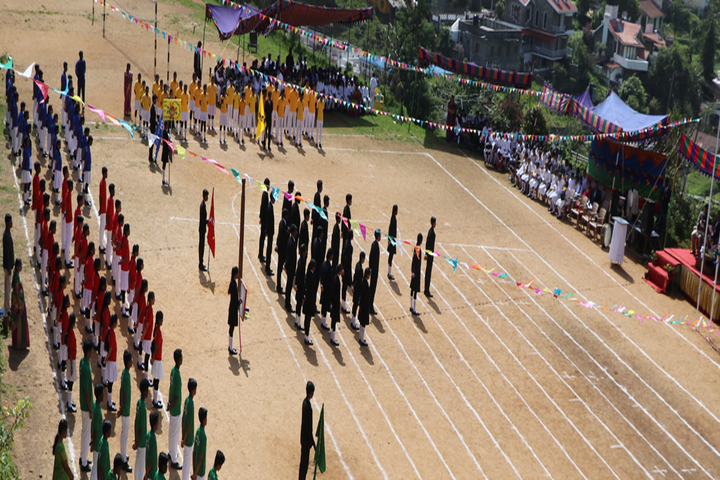 St Peters Matriculation Higher Secondary School-Annual Sports Day