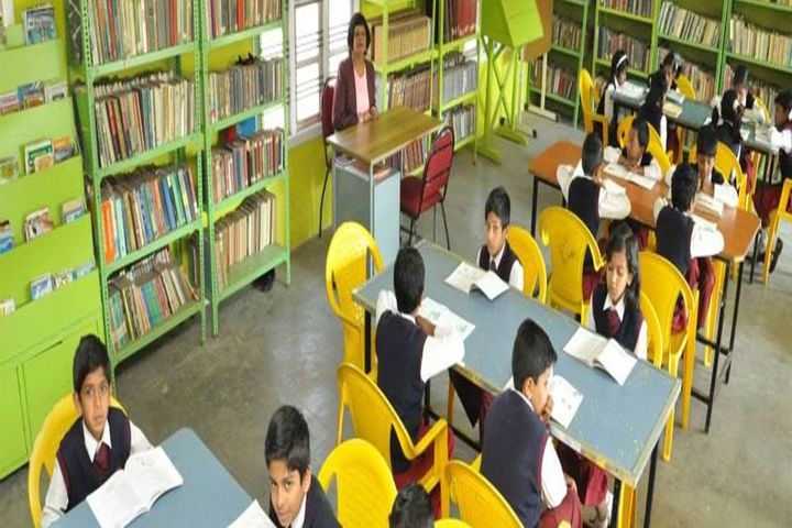 St Peters Matriculation Higher Secondary School-Library