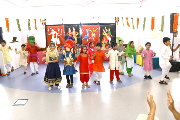 The Charter School-Fancy Dress on Independence Day Celebration