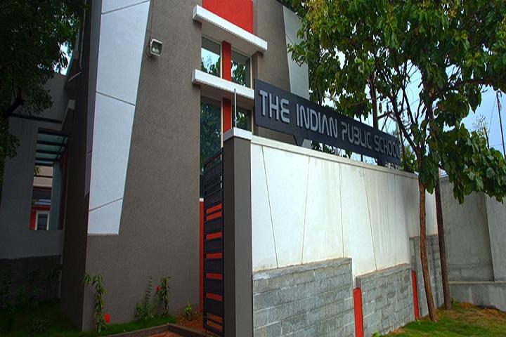 The Indian Public School-Campus Entrance