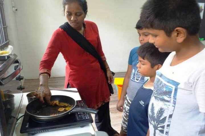 The Indian Public School-Cooking Classes