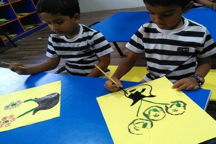 The Indian Public School-Art and Craft