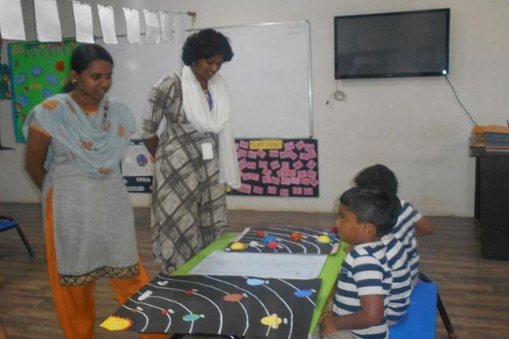The Indian Public School-Science Exhibition