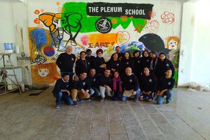 The Plenum School- Staff Group Photo
