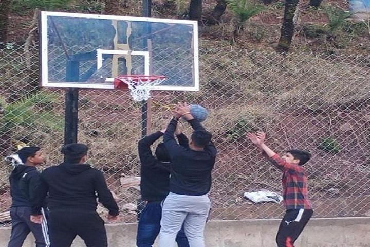 The Plenum School-Basket Ball Court