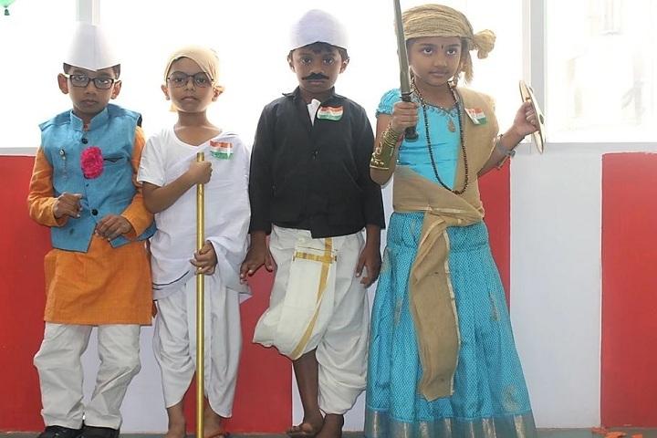 The Sun Smart Foundation International School- Fancy Dress Competition