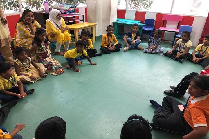 The Sun Smart Foundation International School- LKG Class Room