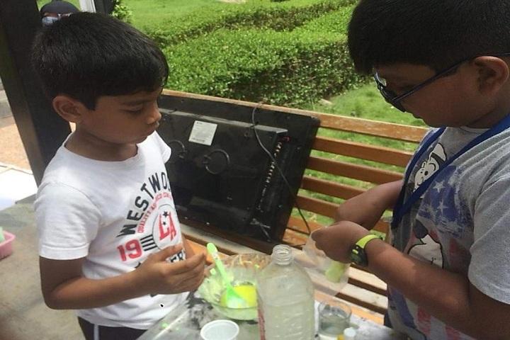 The Sun Smart Foundation International School- Making Juice