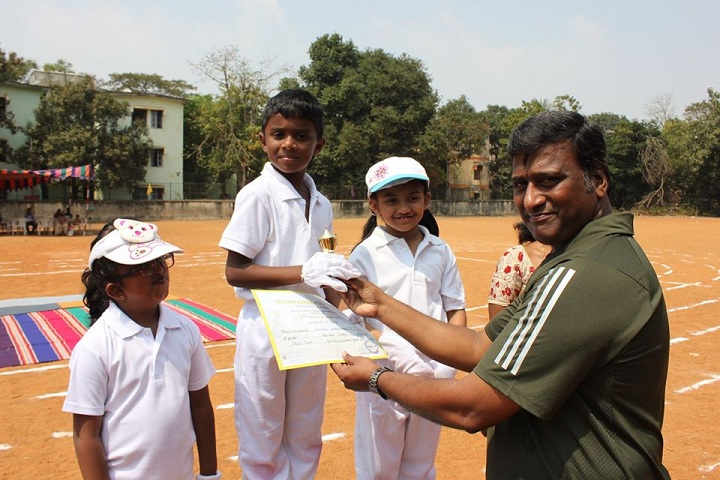 The Sun Smart Foundation International School- Sports Winner