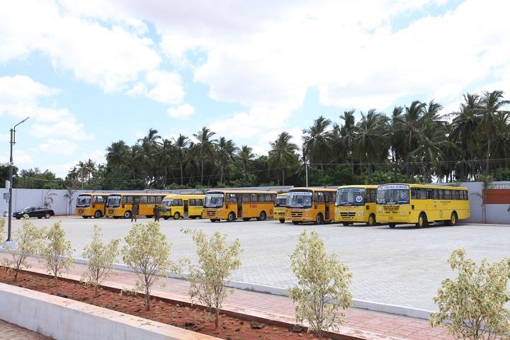 The Vikasa International School-Bus