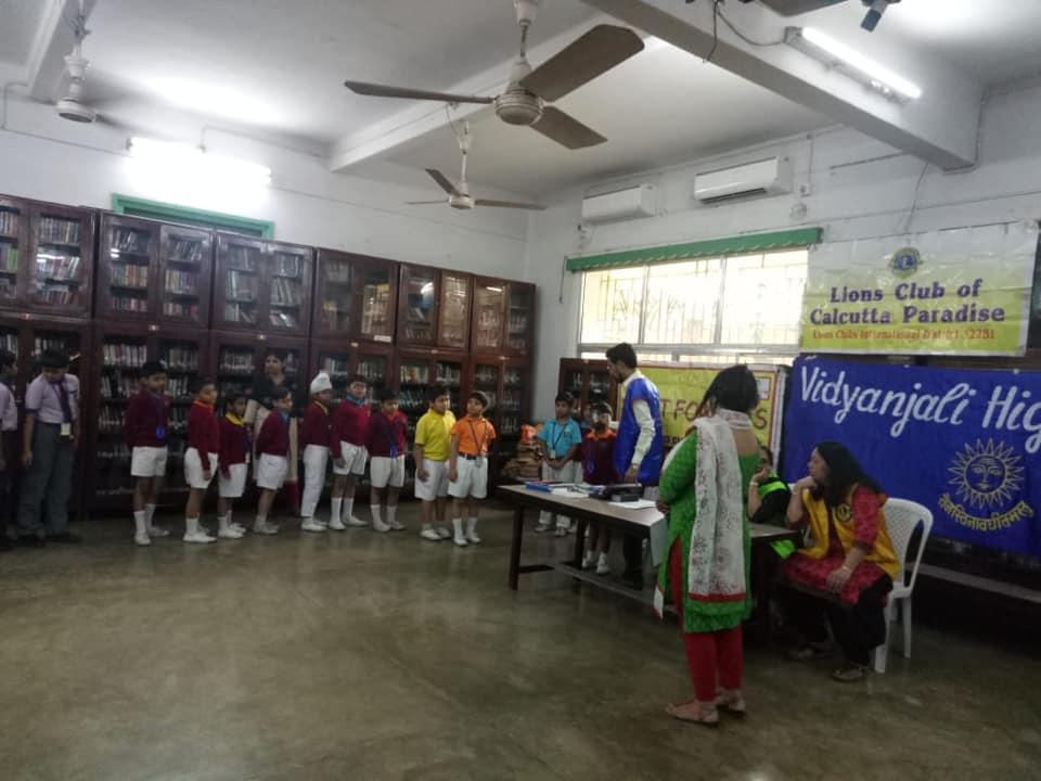 Vidyanjali International School -World Sight Day