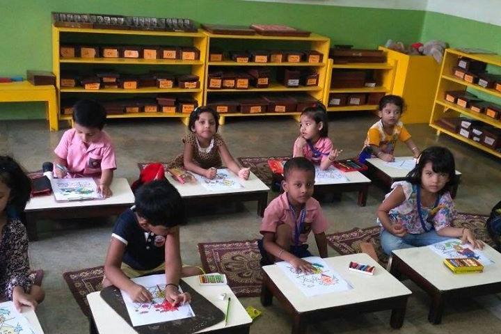 Vidyanjali International School- Drawing Activity