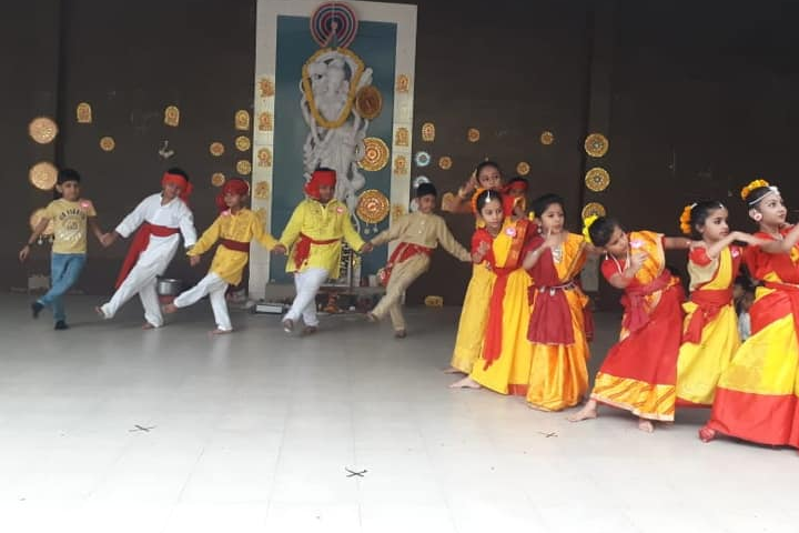 Vidyanjali International School -Vasant Panchami Celebration