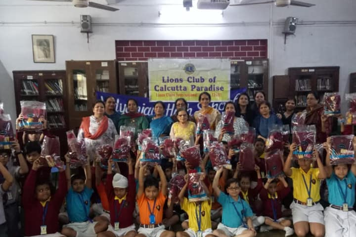 Vidyanjali International School  - Activity conducted by Lions Club of Calcutta Paradise