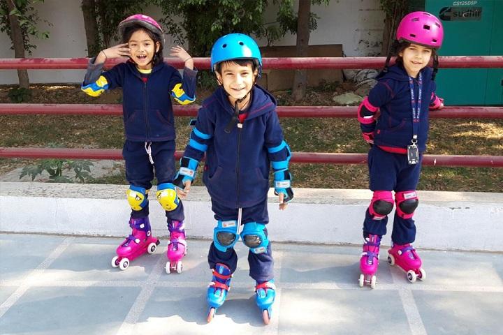 The Ardee School-Skating