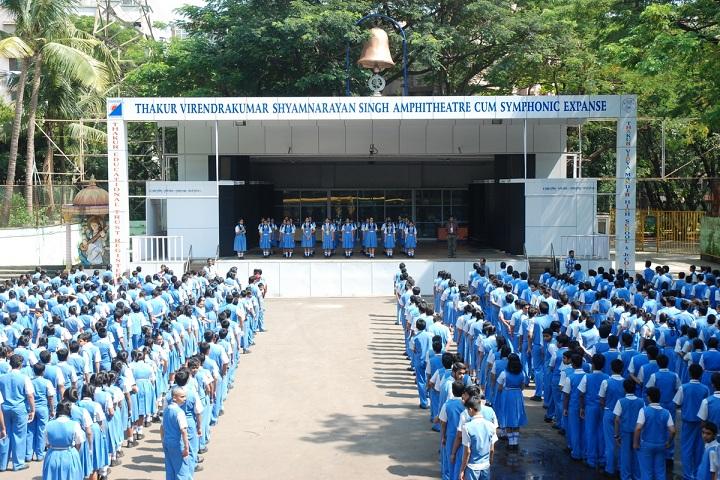 Thakur Vidya Mandir High School and Junior College-Assembly