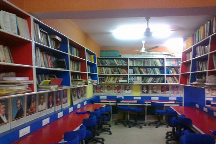 Thakur Vidya Mandir High School and Junior College-Library