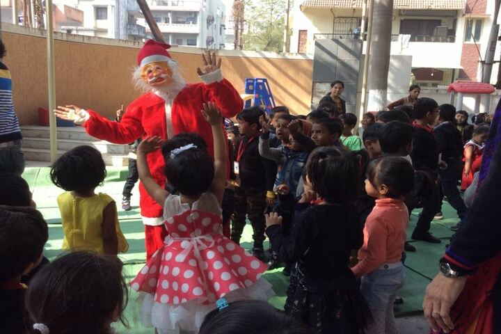 M K H Sancheti Public School & Junior College-Christmas Celebrations