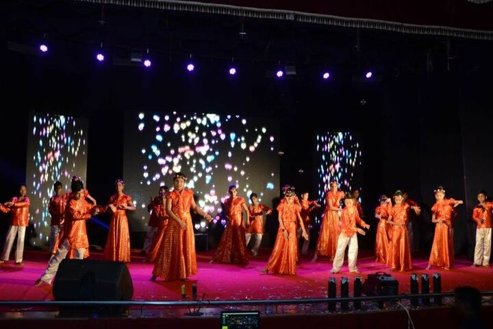 M K H Sancheti Public School & Junior College-Dance