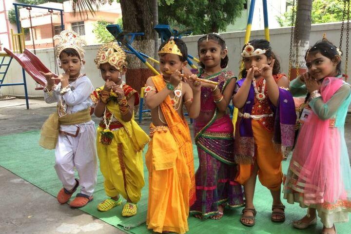 M K H Sancheti Public School & Junior College-Krishna Janmashtami