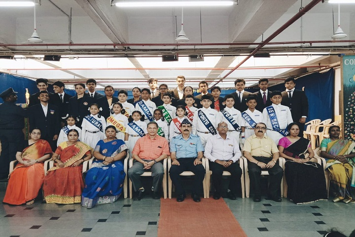 Sujatha High School-Investiture Ceremony