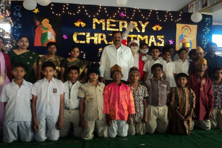 Ramakrishna School-Christmas Celebrations