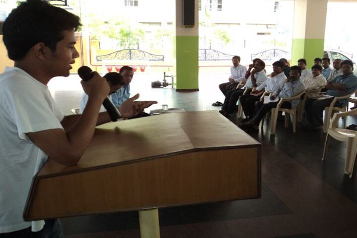 Ramakrishna School-Speech