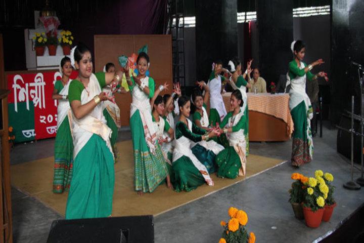Assam Jatiya Bidyalay-Dance Competition