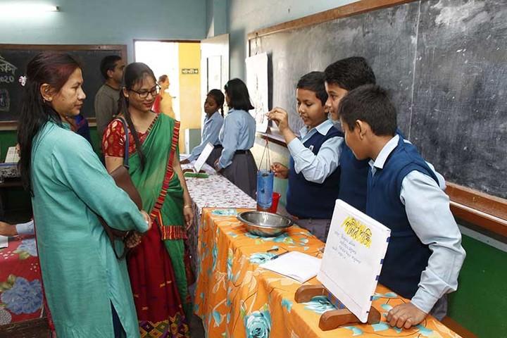 Assam Jatiya Bidyalay-Science Exhibition