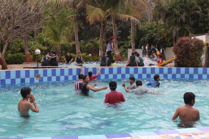 Som Lalit School-Swimming