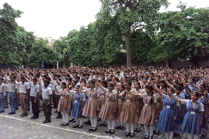 Rajasthan Hindi High School-Assembly