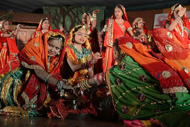 Rajasthan Hindi High School-Dance