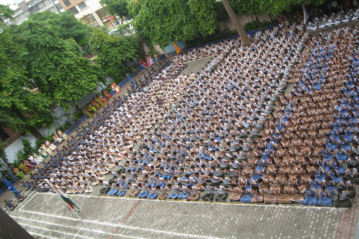 Rajasthan Hindi High School-Students
