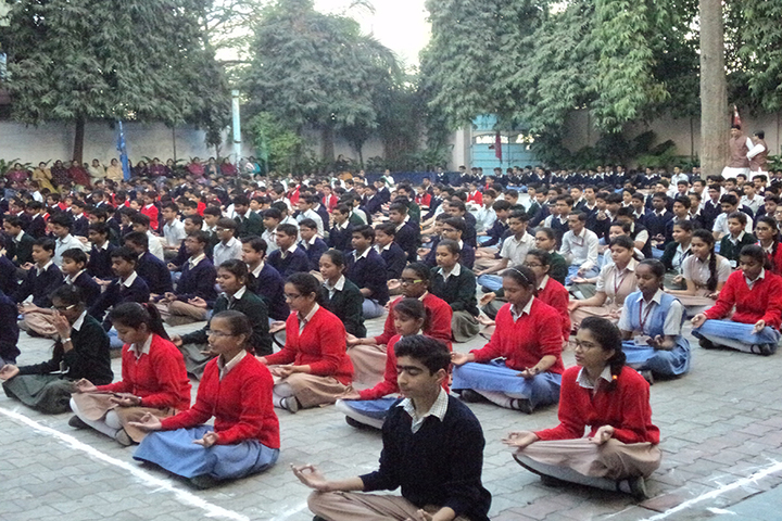 Rajasthan Hindi High School-Yoga