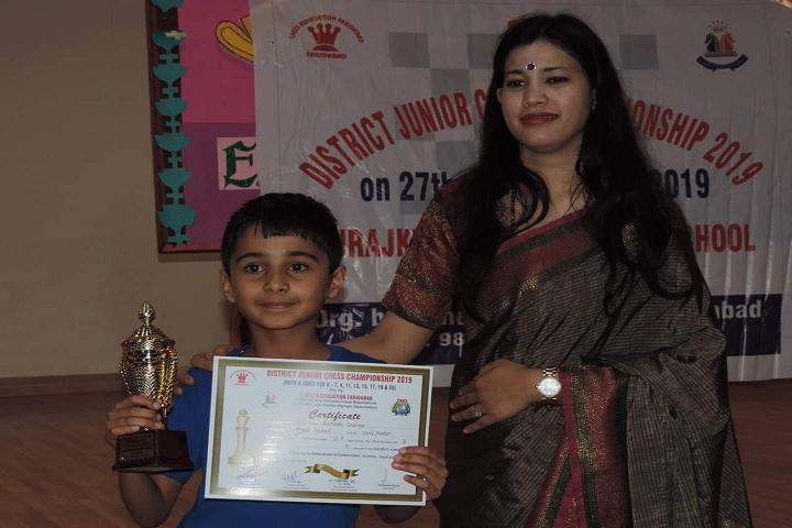 Shiv Nadar School-District Chess Tournament Competition Winner