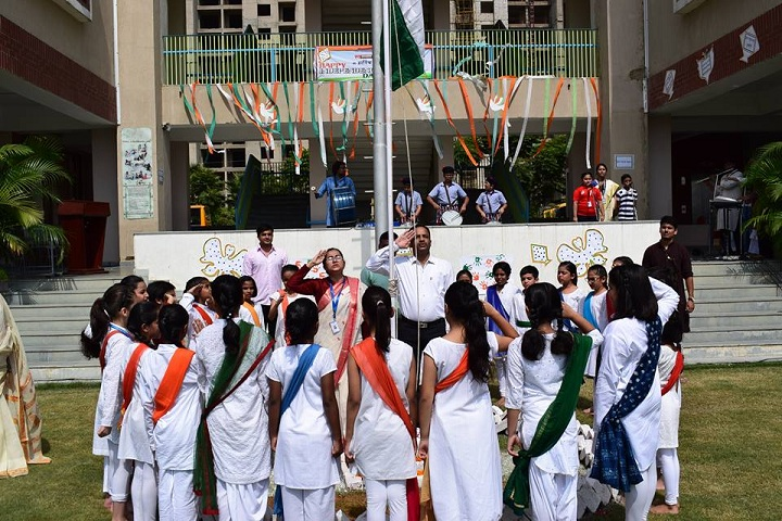 Shiv Nadar School-Independence Day