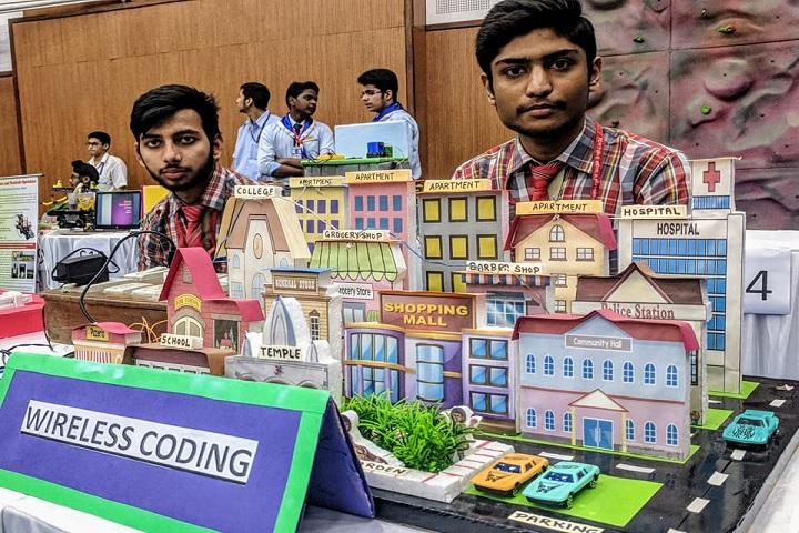 Shiv Nadar School-Science Exhibition