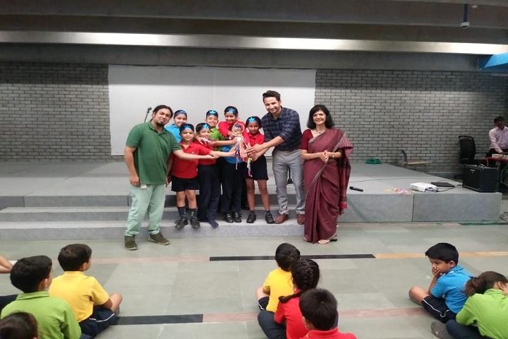 Shiv Nadar School-Singing Competition Winner