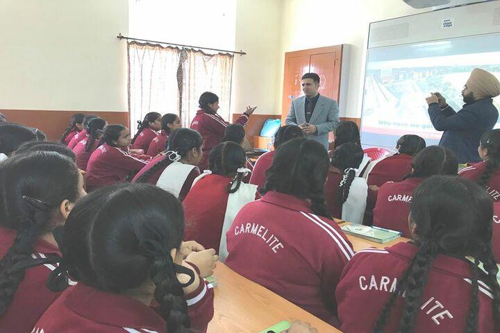 Carmel Convent School-Guest Speech