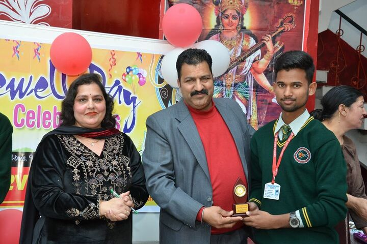 Dewan Devi Higher Secondary and Playway School-Awards