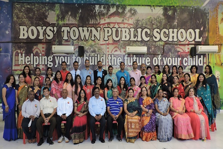 Boys Town School and  Junior College-Secondary Staff