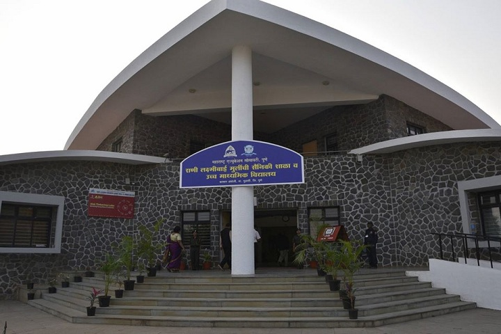 Rani Laxmibai Mulinchi Sainiki Shala-Campus view